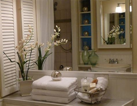 staged bathroom