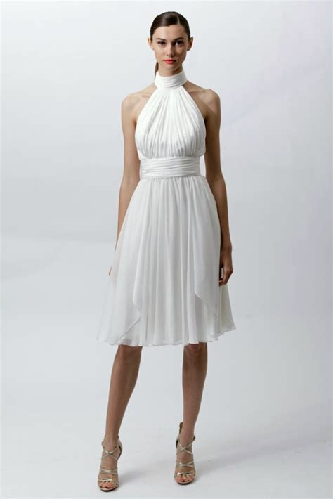 White Hot Wedding Dresses from Resort 2012   OneWed