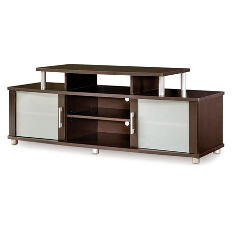 Furniture City Glass by City Tv Stand With Frosted Glass Doors Dcg Stores