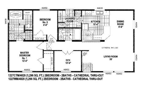 skyline manufactured home floor plans skyline triple wide floor plans floor plans for double