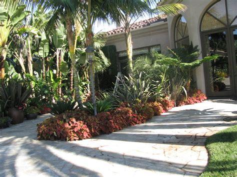 Landscape Ideas San Diego Rancho Santa Fe California Residence Tropical