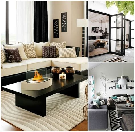white and living room ideas gorgeous black and white living room designs