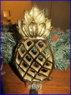 virginia metalcrafters williamsburg brass pineapple