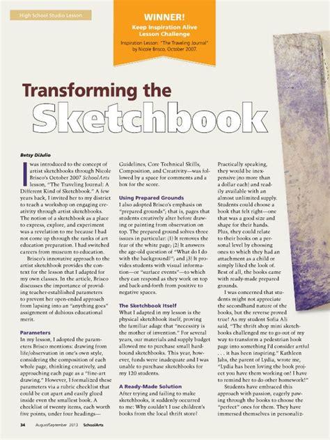 sketchbook lessons image gallery sketchbook lessons
