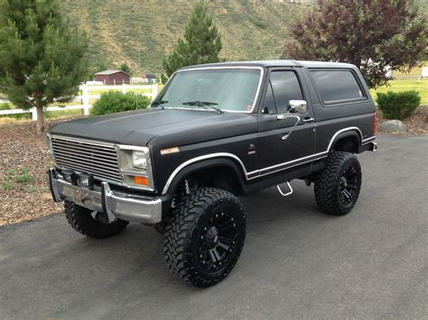 1983 Ford Bronco 1983 ford bronco xlt fuel injected 351 classic ford