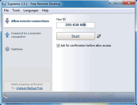 supremo remote software a on computer tips and tricks 1 29 12 2 5 12