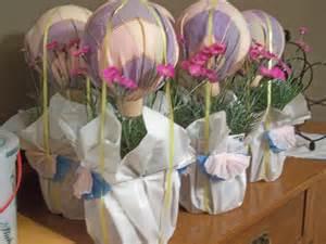 air balloon table centerpieces baby shower balloon centerpieces favors ideas