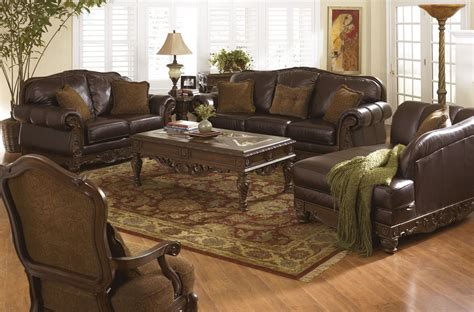 north shore chaise north shore dark brown laf corner chaise from ashley