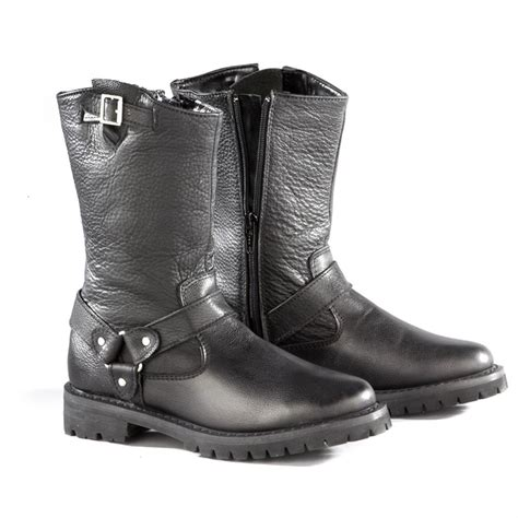 biker boots for sale women s 11 quot ad tec 174 zip biker boots black 303863