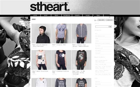 big cartel design templates 20 awesome big cartel store exles iamthetrend