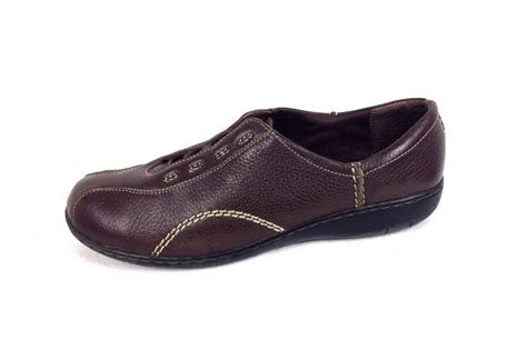 clarks womens oxford shoes clarks shoes 10 womens brown leather oxfords for sale