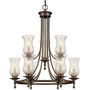 home depot chandelier grace 9 light rubbed bronze chandelier 14688 the home depot