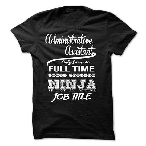 T Shirt Some Only See Colour administrative assistant only because time multita t