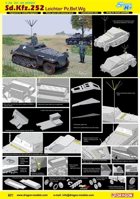 sdkfz leichter befwagen dragon plastic model kits