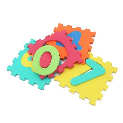 puzzle matte number puzzle mat kiyobaby