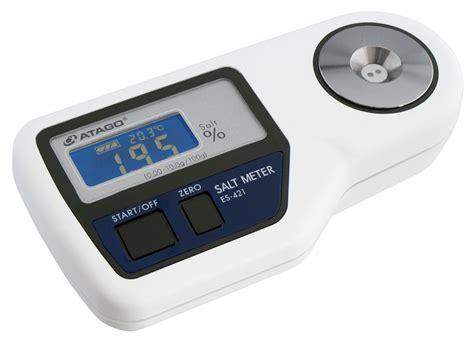 Salinity Meter es 421 digital salt meter