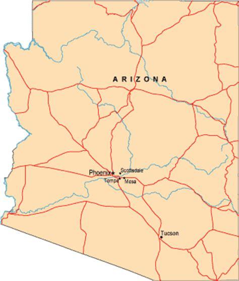 us map arizona maps us map arizona