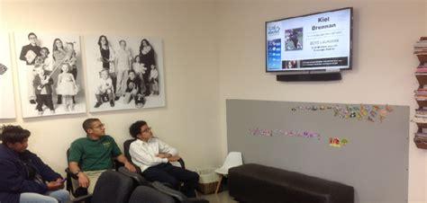 comfort dental corporate comfort dental installs screens of fame digital signage