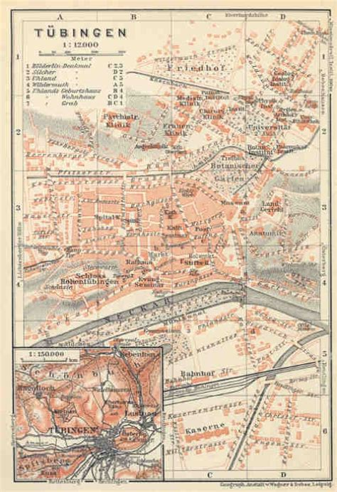 tubingen germany map 32 best images about ernst ruckaberle s home town