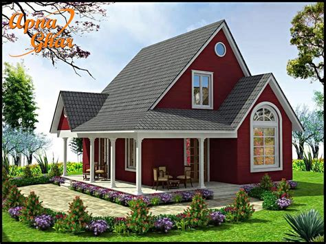 country cottage house design apnaghar house design