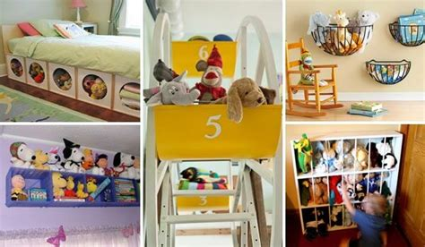 a simple way to organize toys our house now a home 15 smart and easy diy ways to organize kid s stuffed toys