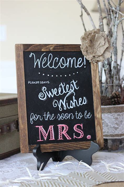 s in ideas 10 trending bridal shower signs ideas to choose from