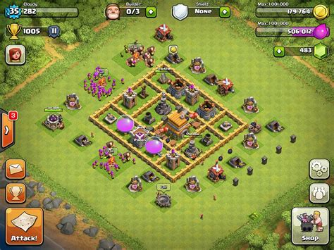 best layout for video top 10 clash of clans town hall 6 trophy base layouts