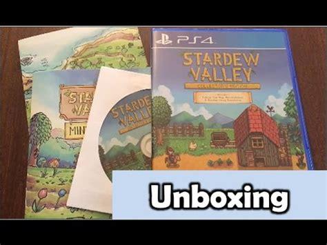Ps4 Stardew Valley Collector S Edition Region 1 stardew valley collector s edition ps4 unboxing