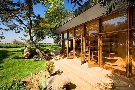 Exceptional Frank Lloyd Wright Inspired House Plans #5: Farm-house-with-japanese-garden-3.jpg