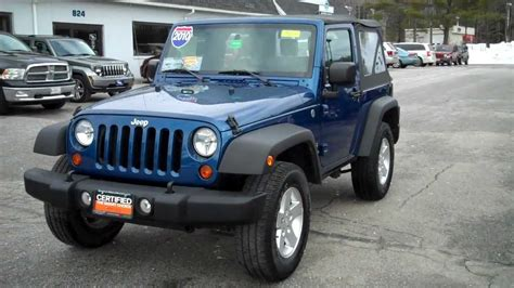 Used Jeep Wrangler 2010 Best Priced Used 2010 Jeep Wrangler Sport Southern Maine