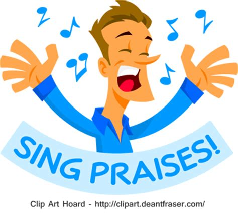 Sing Yesterday For Me 1 2 praise clipart 59