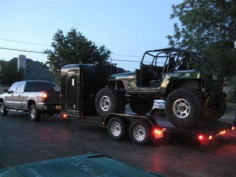Travel Sleeper Cer Trailer by Sleeper Cab Pirate4x4 4x4 And Road Forum