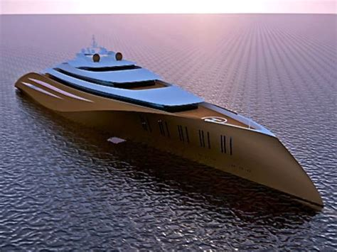 Design Of Garage 200 meter long superyacht makes all billionaires existing