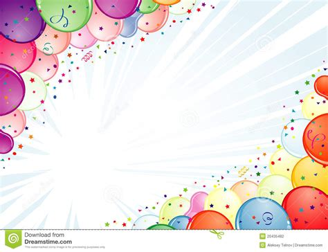 frame design for birthday birthday frame stock vector illustration of ribbon event