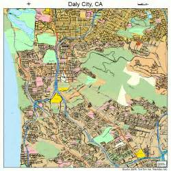 daly city california map 0617918