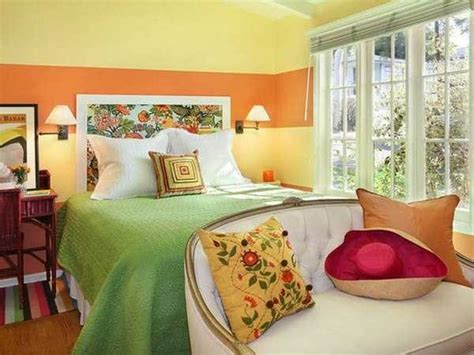 green and orange bedroom ideas 15 bright fall decorating ideas warming home interiors