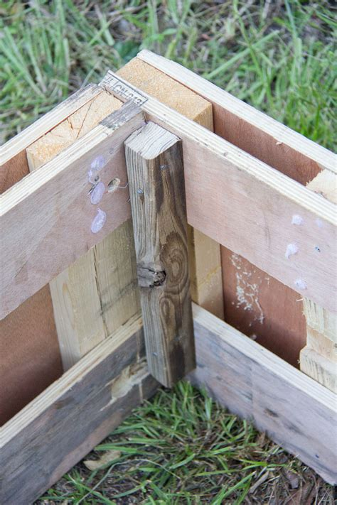 Possum Proof Raised Pallet Garden Bed With Easy Access
