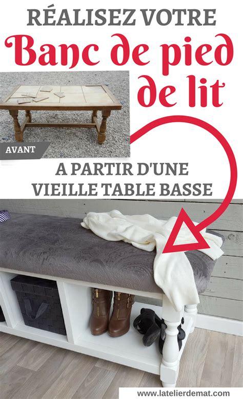 Banc De Pied De Lit by R 233 Aliser Un Banc De Pied De Lit Pied De Lit Pied De Et