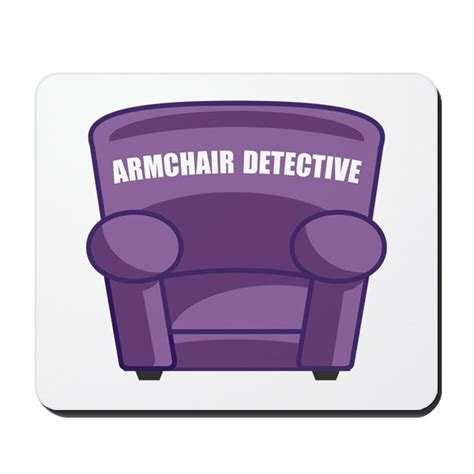 armchair mouse pad armchair detective mousepad by thedetectives