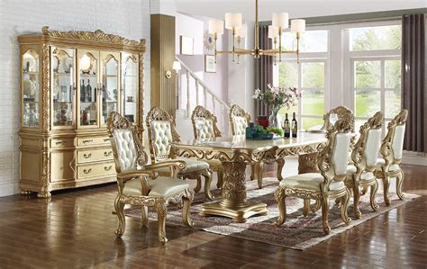 meridian furniture bennito pcs casual dining room set