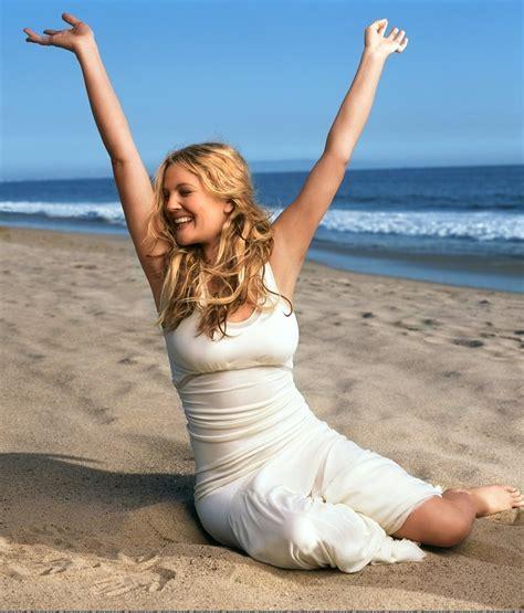 Drew Barrymore Gets On by Desktop Pics Heroine Drew