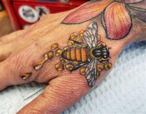 honey bee tattoo honey bee tattoos bee honey