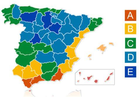 zonas climaticas de espana las calcular la potencia calor 237 fica para una casa o habitaci 243 n
