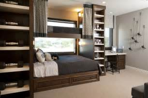 Youth Loft Beds Hamptons Inspired Luxury Kids Boys Bedroom Before And