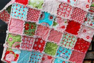 write it bliss rag quilt
