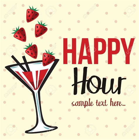 happy hour sign template happy hour invitation templates cloudinvitation