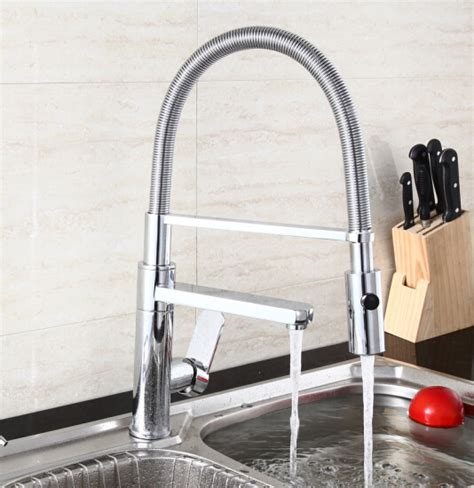 Best Selling Kitchen Faucets by Aliexpress Com Buy 2015 Pull Out Kitchen Mixer Led Color