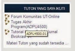 cara mengikuti tutorial online universitas terbuka langkah mengikuti diskusi tutorial online tuton