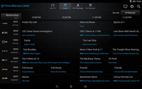 time warner cable app for android time warner cable app for android 28 images twc tv 174