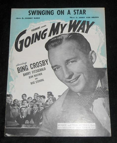 song swing on a star swinging on a star as sung by bing crosby in going my way